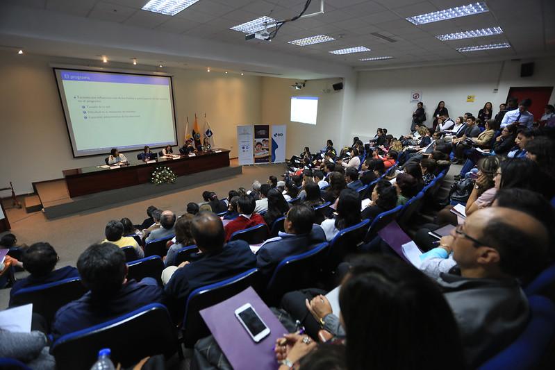 Encuentro de Metodologías para la Evaluación de la Educación 2do. día