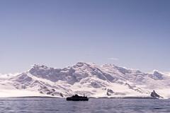 cruising along the South Shetland Islands