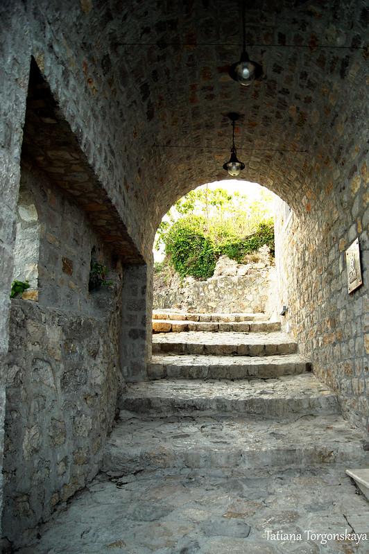 Проход к верхней части Старого города
