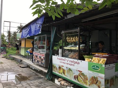 サムイ島 美味しいカオマンガイ屋さん 大学前