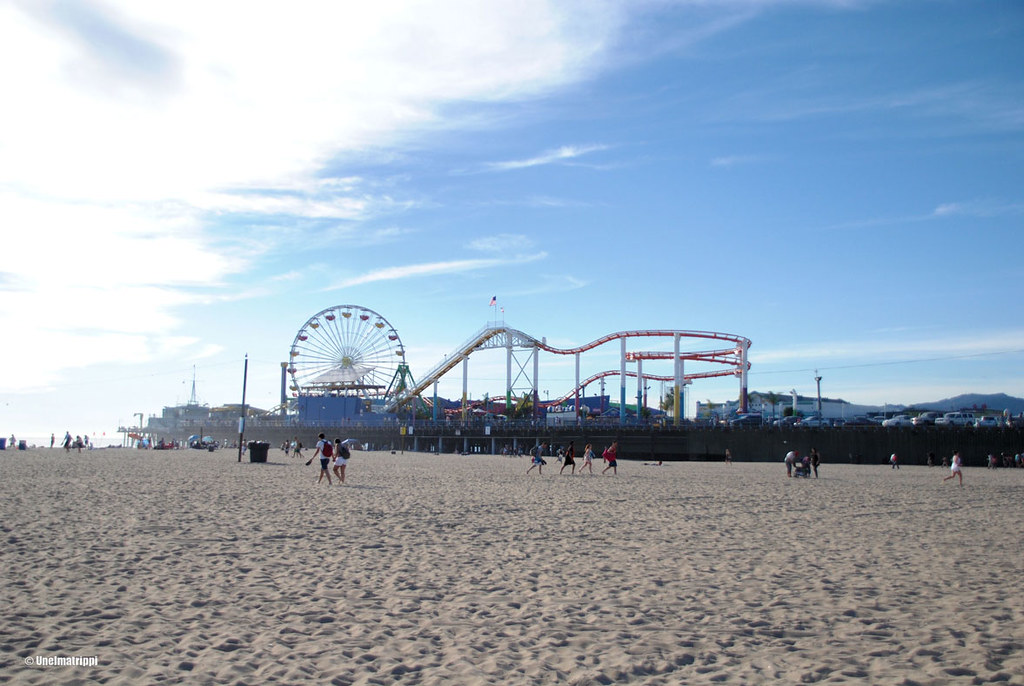 Santa Monica Pier, Kalifornia, USA