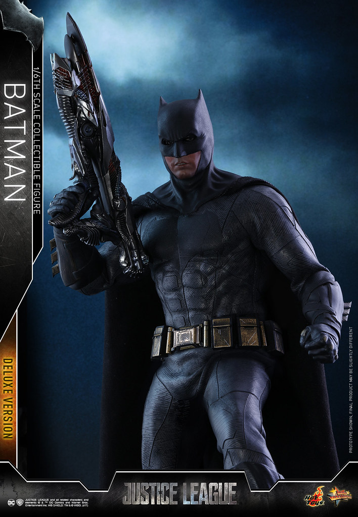 附屬超豪華的情境地台!Hot Toys - MMS456 - Justice League - 1/6th scale Batman (Deluxe Version)