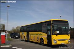 Iveco Bus Crossway - STAO 72 (STAO PL, Société des Transports par Autocars de l'Ouest – Pays de la Loire) (Transdev) / TIS (Transports Interurbains de la Sarthe)
