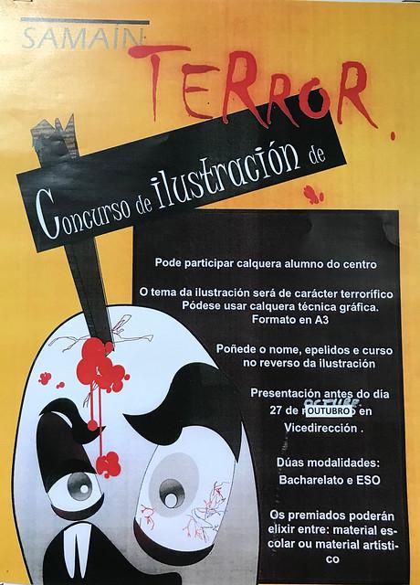Concurso ilustración de terror