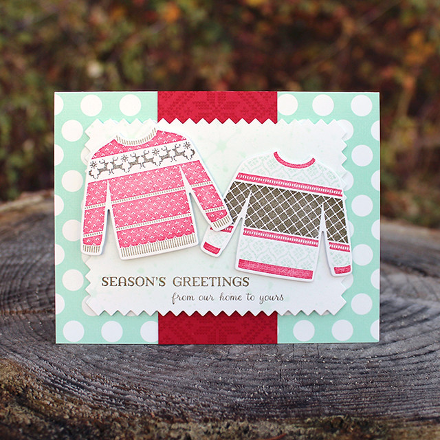 Season's Greetings Sweaters Card