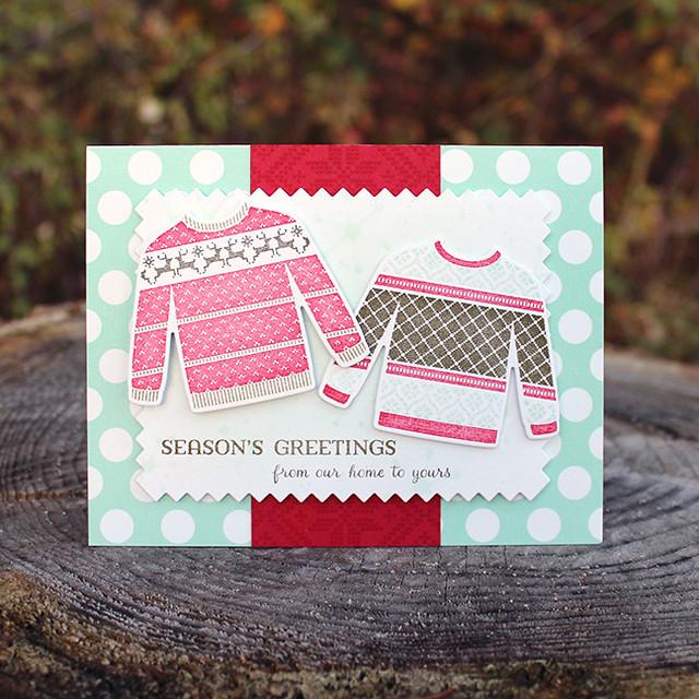 Season's Greetings Sweaters Card