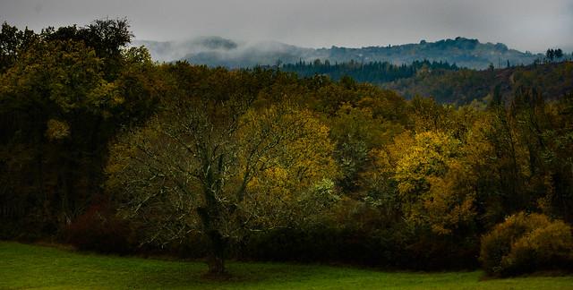 Nadaillac en automne