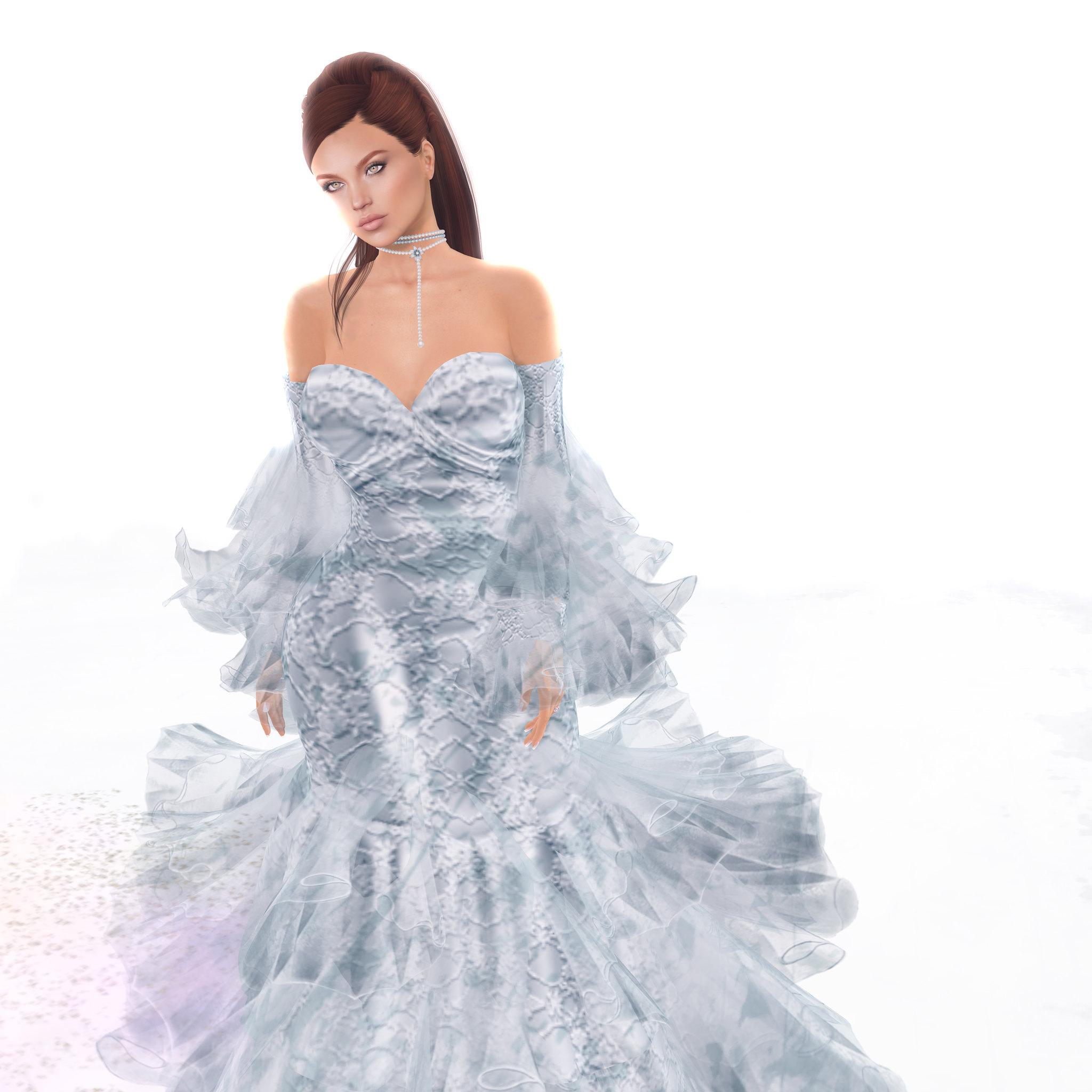 Yeva gown, Azul