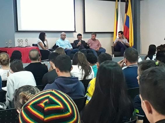 """Conversatorio """"Importancia de la Gestión Logística y de Producción en Empresas del Tolima"""""""