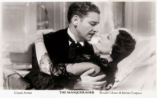 Ronald Colman and Juliet Compton in The Masquerader