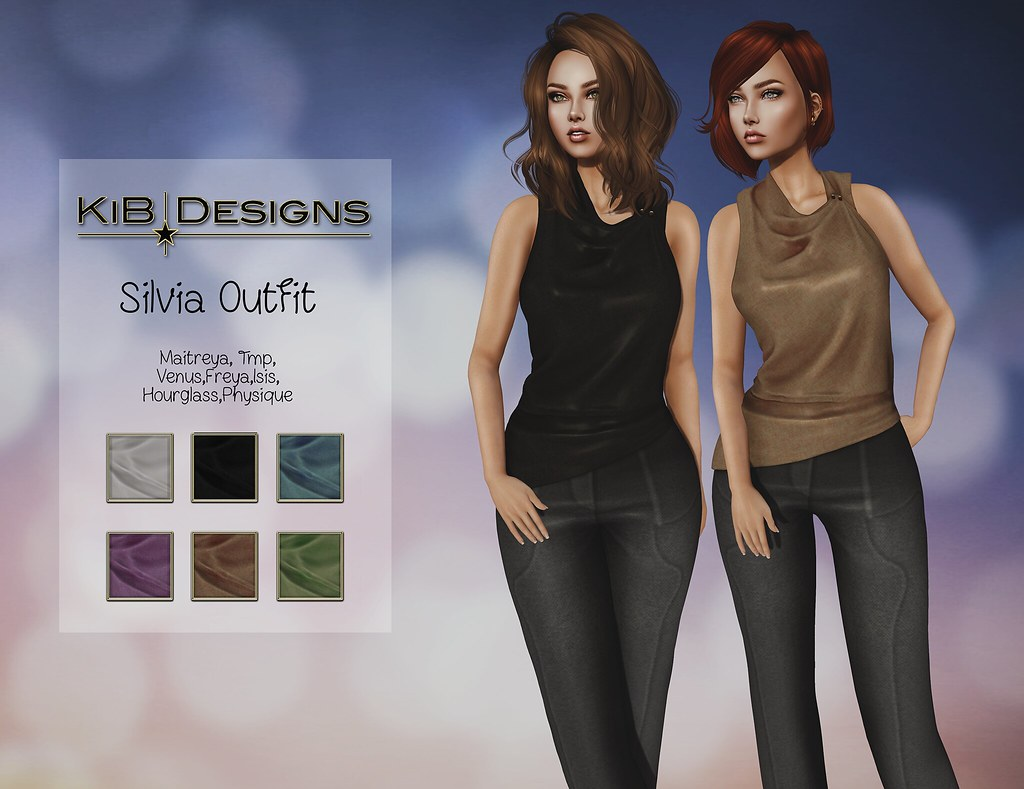 KiB Designs – Silvia Outfit @Designer Showcase