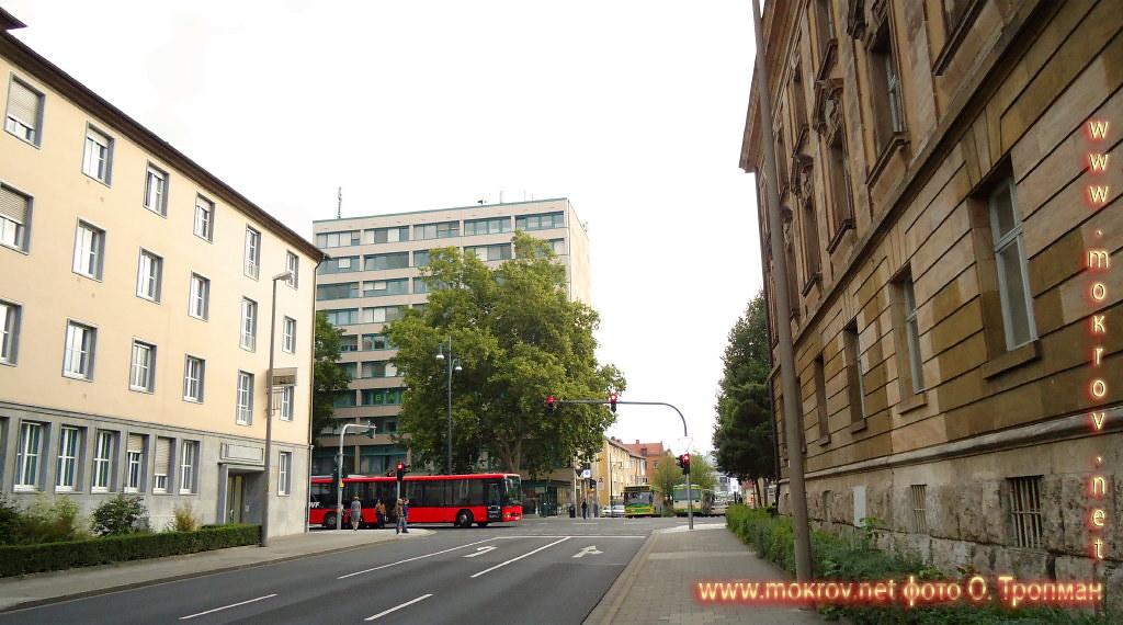 Город Швайнфурт и фотограф
