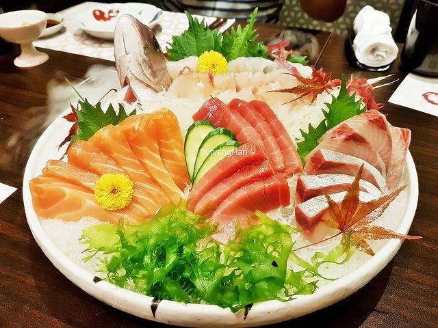 Assorted Sashimi - Tuna, Salmon, Greater Amberjack, Sea Bream