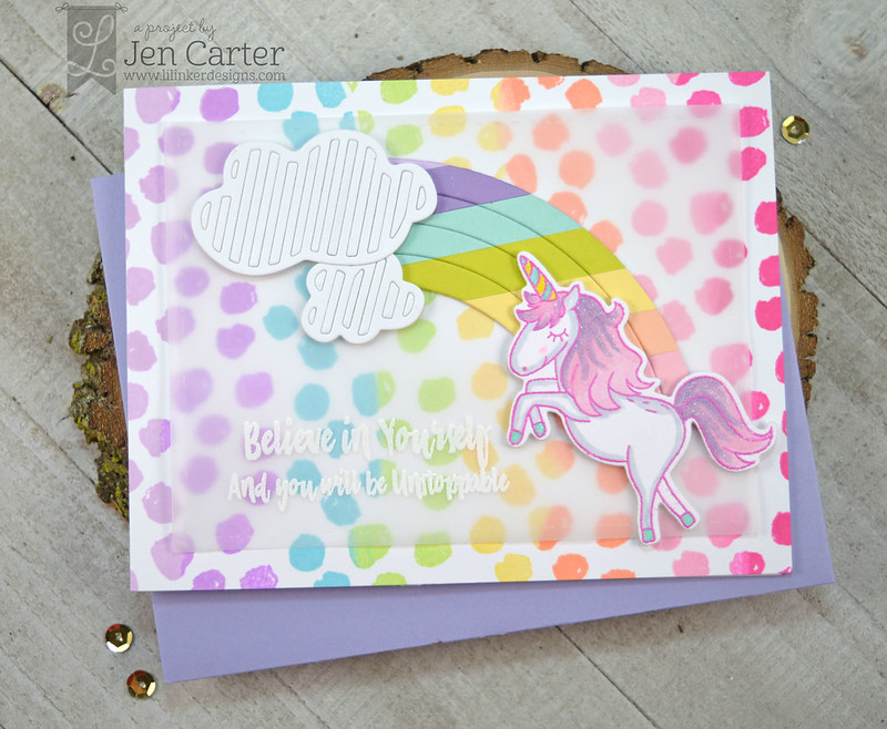 Jen Carter Unstoppable Magical Winter Unicorn wm