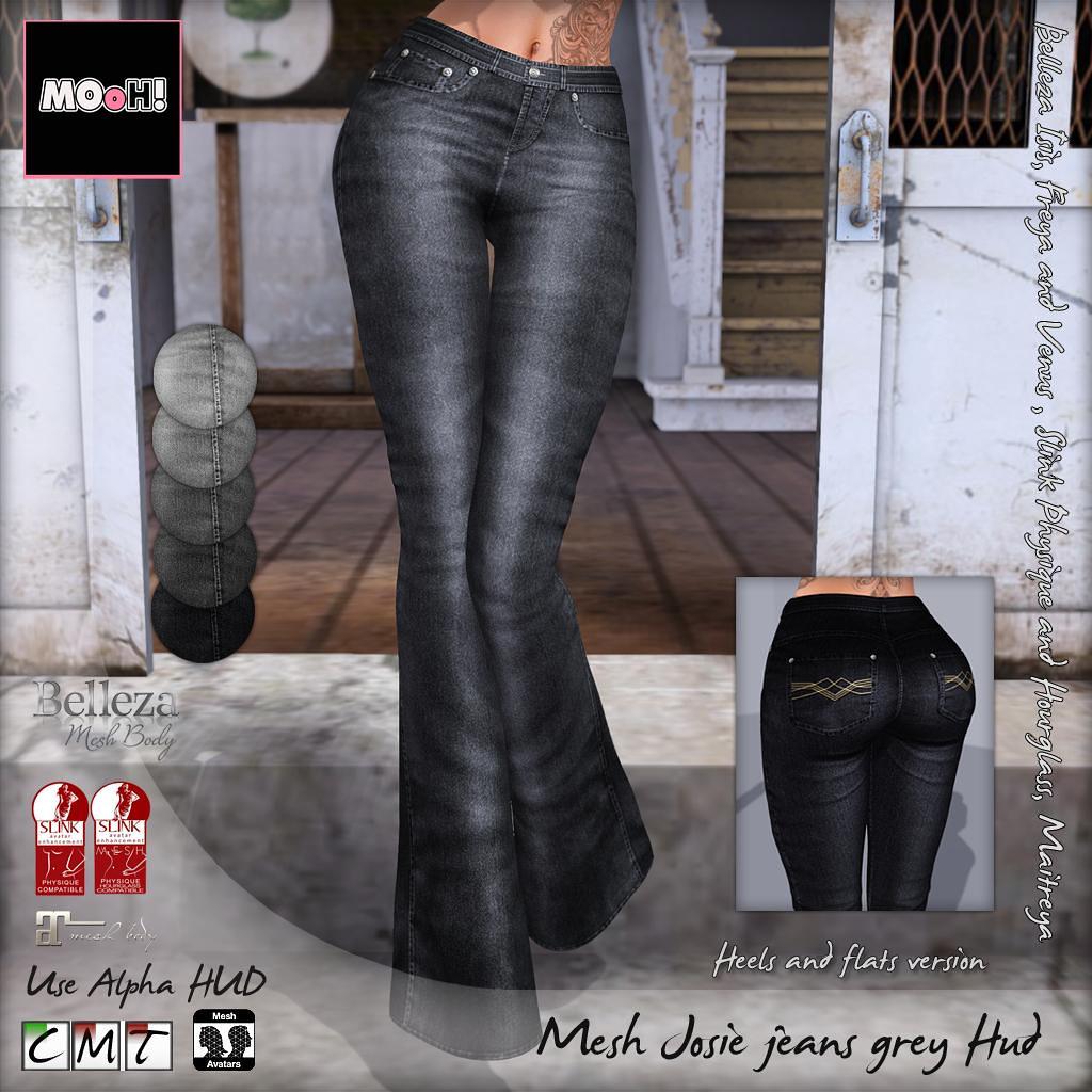 Josie jeans grey hud - TeleportHub.com Live!