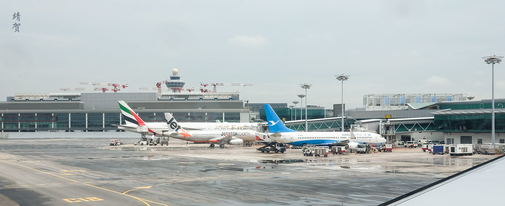Emirates 777, Jetstar A320 and Xiamen 737