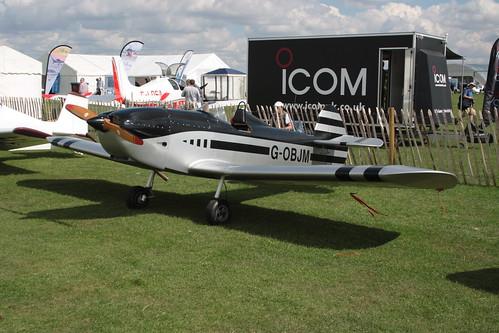 G-OBJM Taylor JT.1 Monoplane [PFA 055-14623] Sywell 010917