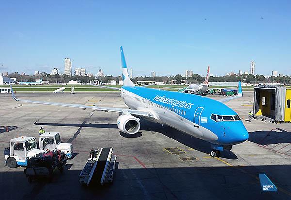 Aerolíneas Argentinas B737-800 (Gaston Doval)