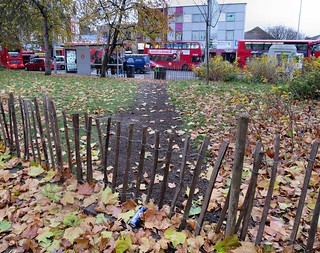 Fenced Desire - Tottenham Green