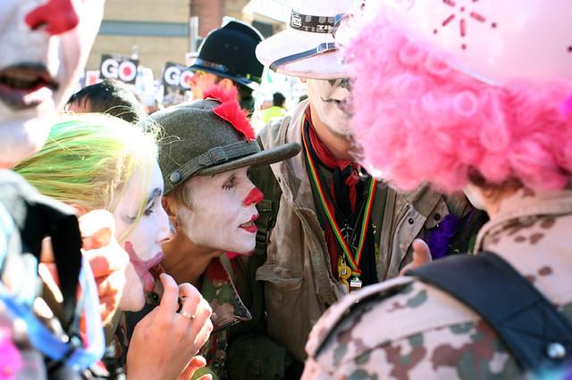 photo of clowns