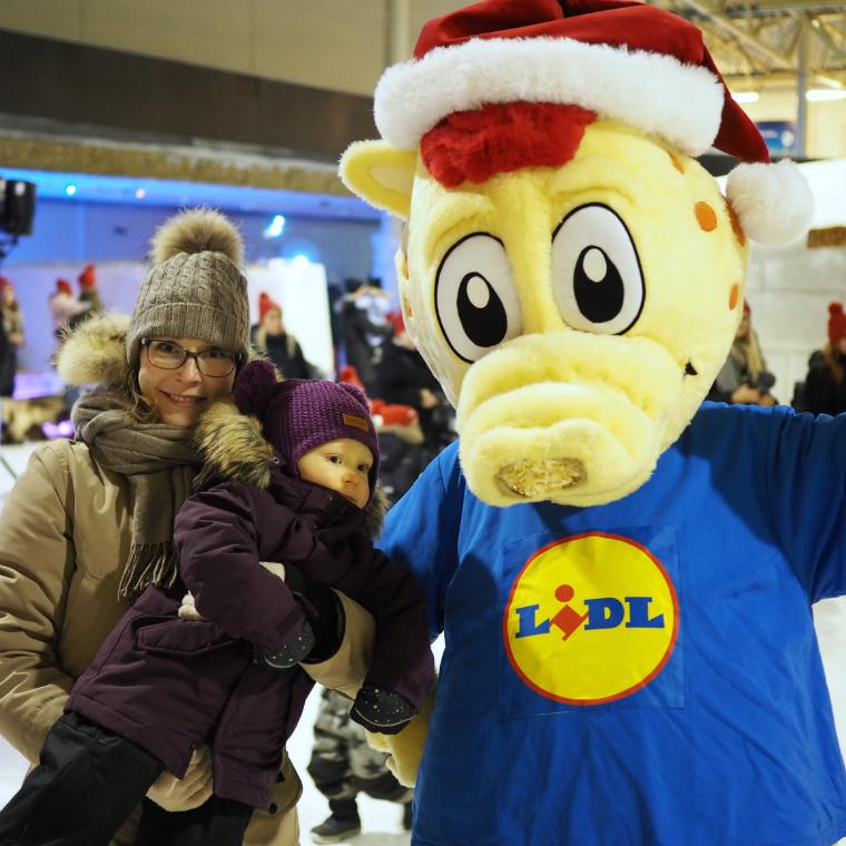 Lidl Lido joulutapahtuma