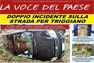 Noicattaro. Prima pagina n.42-2017 front