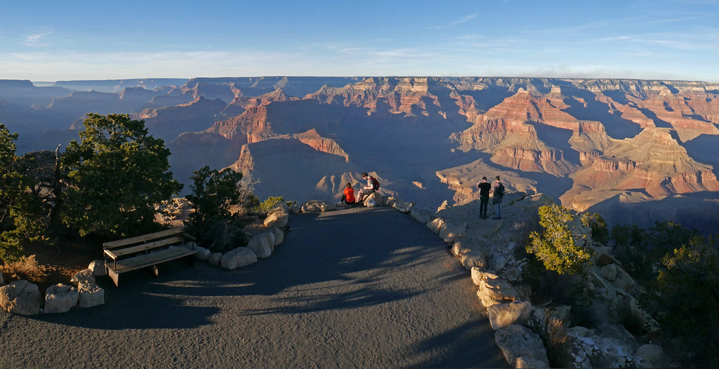 Grand Canyon National Park View From Powell Point In The Flickr