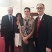 It was my pleasure to present Eagle Scout Jack William Gibbons with a legislative citation during his Eagle Court of Honor Ceremony at the United Church of Christ in Southbury. Jack, a member of Troop 60 in Southbury, designed and constructed three raised flower bed planters for the Southbury Senior Center Garden Club. Pastor Walter Pitman gave the Invocation and the Benediction. Jack was joined by his parents, Cheryl and Daniel Gibbons.