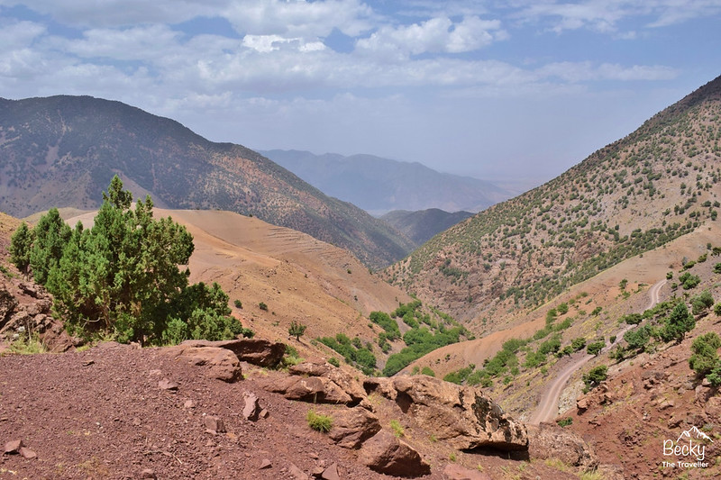 Atlas Mountains - Mount Toubkal Trek - beautiful views