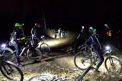 Chilly Night Ride at Wakefield Park