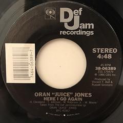 ORAN JUICE JONES:CURIOSITY(LABEL SIDE-B)