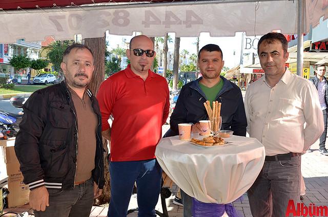 Hasan Erdoğan, Emin Güleniş, Mustafa Kaçmaz, Hakan Toprak