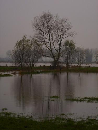 Inondation à Werken
