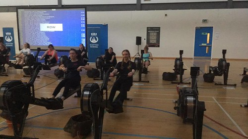 Scottish Schools Indoor Rowing 2017