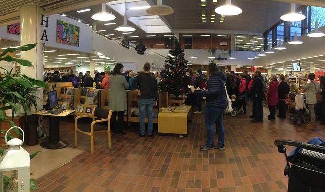 Hämeenlinnan kirjaston etkot 5.12.2017. Valokuvaaja: Markus Kauppinen