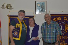 Donation to the Leeland Trefoil Guild
