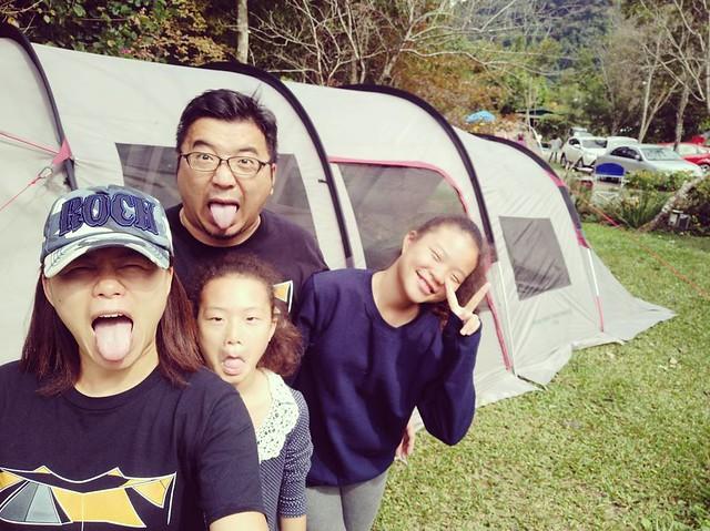 20171105 撤帳回家囉 (嗶嗶,有人有偶包啦!) #歐北露 #campinglife #colemanathena #pureyellownaturehigh