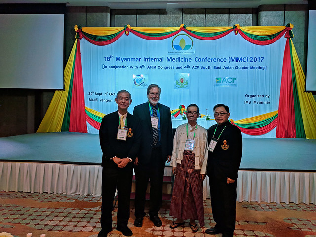 18th Myanmar Internal Medicine Conference Conjunction with 4th AFIM Congress and 4th ACP Southeast Asia Chapter Meeting