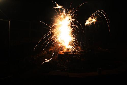 White Firework - Fountain
