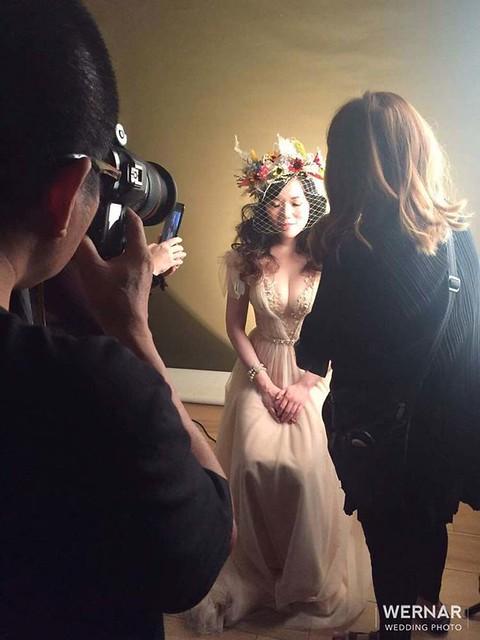 天那音樂藝術,長笛音樂家,音樂家形象照,華納婚紗