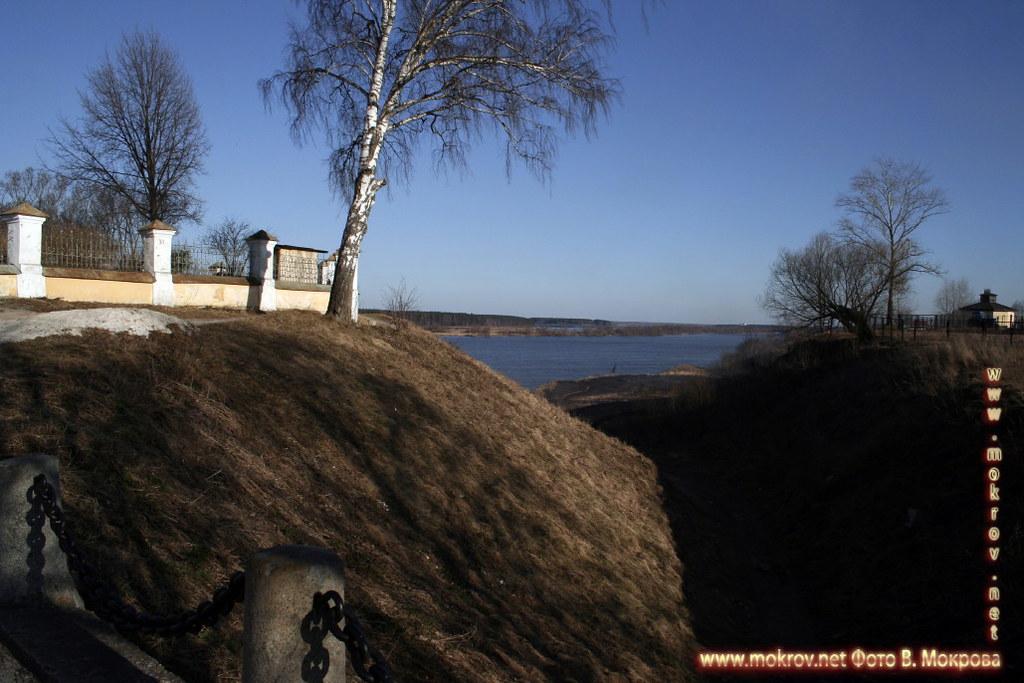 Город Тверь  с фотокамерой прогулки туристов