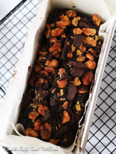 全素巧克力香蕉蛋糕 (無麵粉) vegan-chocolate-banana-bread (1)