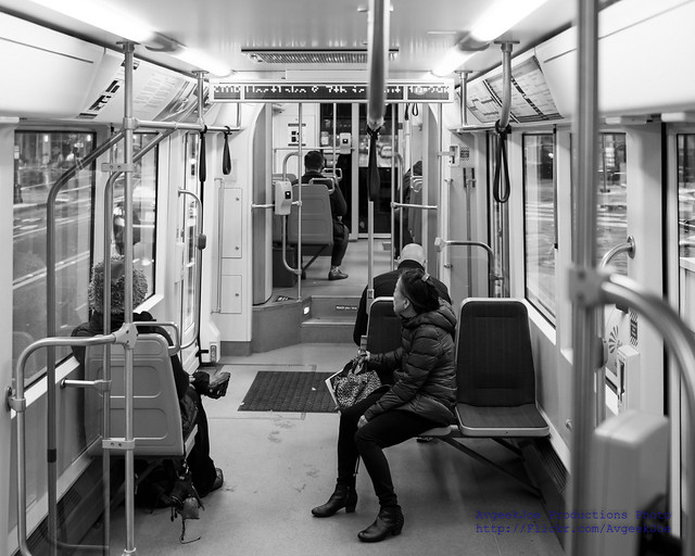 Inside A South Lake Union Trolley at 10:39 AM 9 November 2017