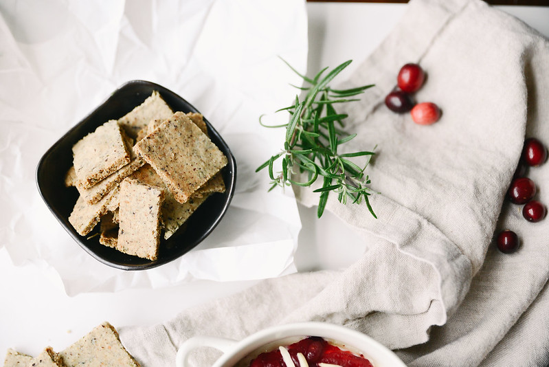 Baked Brie with Cranberry Chutney