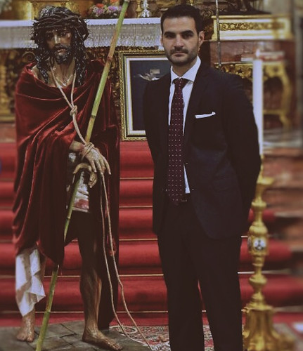 Bendición Cristo de la Humildad de Antonio Luis Troya Iglesia del Santo Ángel