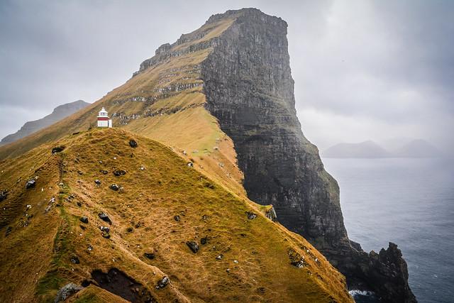 Kallur Lighthouse, Kalsoy, Faroe Islands.