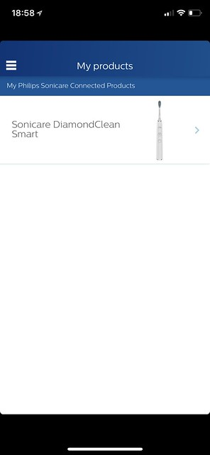 Philips Sonicare iOS App - My Products