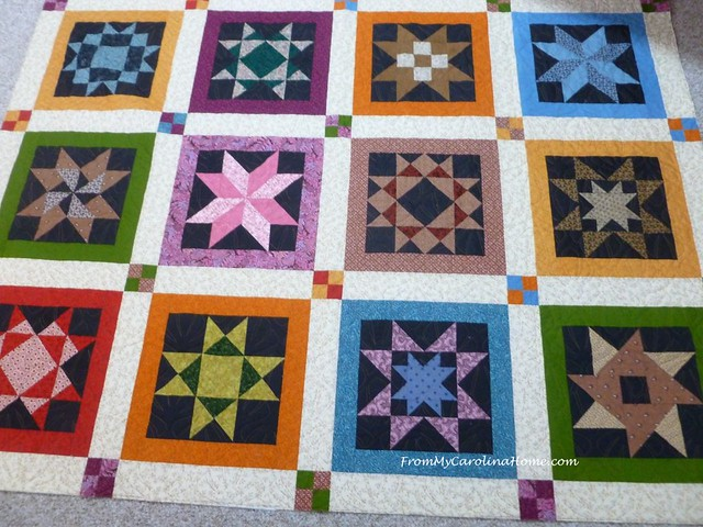 Sampler Quilts at From My Carolina Home