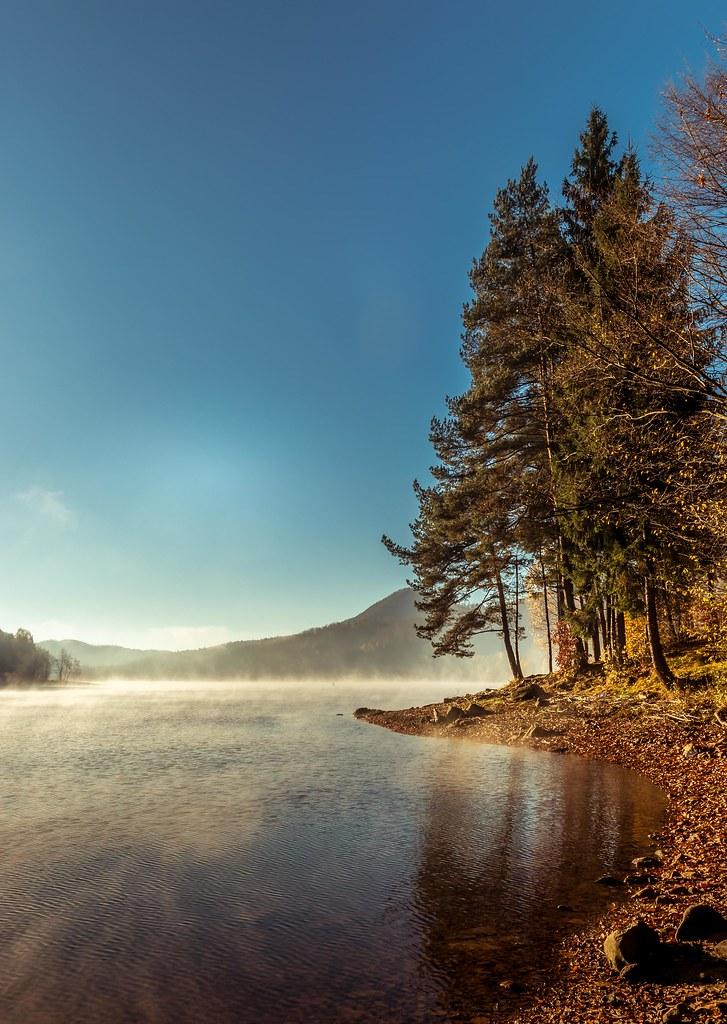 Firiza lake in the morning