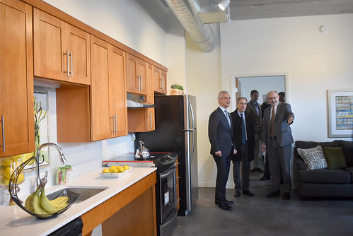 Trianon Lofts Ribbon Cutting